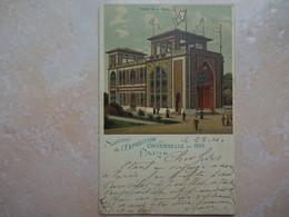 CPA Souvenir Exposition Universelle 1900 PARIS Palais De La PERSE Iran - Expositions