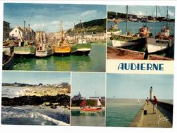 Audierne (carte Jean Kérisit ) - Brest