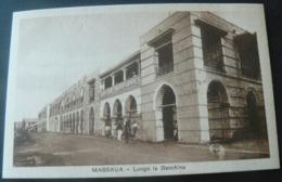 MASSAUA......LUNGO LA BANCHINA. - Erythrée