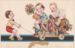 ENFANT PETITE FILLE GARCON BONNE FETE - Cartes Humoristiques