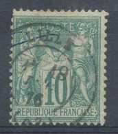 [101061]N° 65, 10c Vert, Sage Type I, Belle Obl Centrale De LILLE - 1876-1878 Sage (Type I)