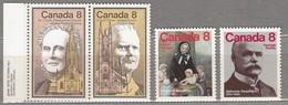 CANADA 1975 Famous People Painting MNH(**) Mi 593-596 #23957 - 1952-.... Règne D'Elizabeth II