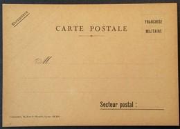 Carte De Franchise Militaire éditée à Lyon - Marcophilie (Lettres)