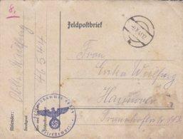 German Feldpost WW2: From Pulawy In Poland - 4. Kompanie Landesschützen-Bataillon 709 - Guerre 1939-45