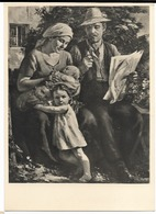Haus Der Deutscher Kunst à Munich  - Peinture De Richard Heymann - époque Du NSDAP - Paintings