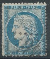 Lot N°46798  Variété/n°37, Oblit GC, Filet OUEST - 1870 Siege Of Paris