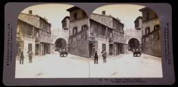 INEDITE - VUE Stéréoscopique RUE DE FRANCE NIMES - SERRURERIE FORGES - ATTELAGE - EXCEPTIONNEL - Nîmes