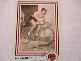 Cyclisme Photo Dedicacee Valentin Huot - Radsport