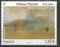 """FR YT 4438 """" Tableau William Turner """" 2010 Neuf** - France"""