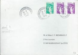 Lettre  Affranchie Avec SABINE Tarif Normal Du 29/5/78 - Marcophilie (Lettres)