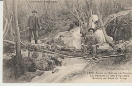 C.P. -  LIGNE DU SUD DE LA FRANCE - LA PASSERELLE DES TOURISTES - SENTIER DU SAUT DU  LOUP - 1336 - GILETTA - ANIMEE - - Frankreich