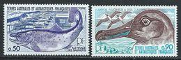 TAAF YT 71-72 XX / MNH Saumon Salmon Oiseau Bird Poisson Fish Animal Wildlife - Terres Australes Et Antarctiques Françaises (TAAF)