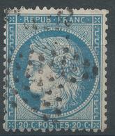 Lot N°46800  Variété/n°37, Oblit étoile Muette De PARIS, Taches Blanches Perles SUD OUEST - 1870 Siege Of Paris