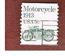 STATI UNITI (U.S.A.) - SG 1870  -  1983   TRANSPORT: MOTORCYCLE  -  USED - Usati