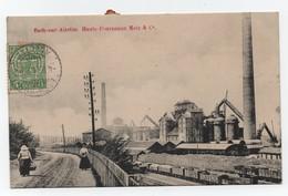 ESCH-sur-ALZETTE (Moselle-57) - Hauts-Fourneaux Metz & Cie - Wagons - Animée - Voyagée. - Autres Communes