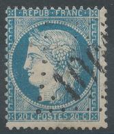 Lot N°46802  Variété/n°37, Oblit GC 1061 Cluny, Saône-et-Loire (70), Légende POSTES, Piquage - 1870 Siege Of Paris