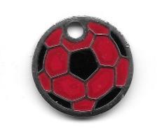 Jeton De Caddie  Argenté  Ville, Sport  Foot - Ball  A.S.C  AMAGNEY  ( 25 ) Recto  Verso - Jetons De Caddies