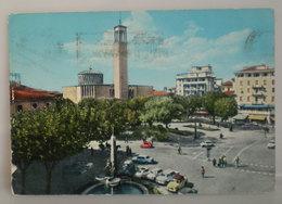 Montecatini Terme Piazza Del Popolo Duomo Auto Cars  Cartolina 1968 - Italia