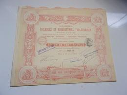 GRANDES TUILERIES ET BRIQUETERIES TOULOUSAINES (1914) - Non Classés