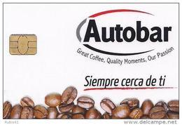TARJETA AUTOBAR CAFE - Unclassified