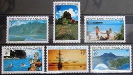 Polynésie Française                   N° 97/102                          NEUF** - Neufs
