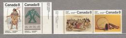 CANADA 1975 Indians Art MNH(**) Mi 587-590 #23960 - 1952-.... Règne D'Elizabeth II