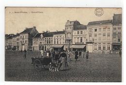 Sint-Niklaas  7.- Saint-Nicolas - Grand'Place 1914 - Sint-Niklaas