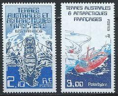 TAAF YT 120-121 XX / MNH Navire Ship - Terres Australes Et Antarctiques Françaises (TAAF)