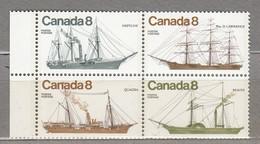 CANADA 1975 Ships MNH(**) Mi 605-609 #23966 - 1952-.... Règne D'Elizabeth II