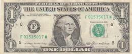 ETATS - UNIS -ONE DOLLAR - F 015350117M - SERIE 1985 - United States Of America