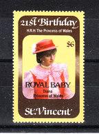 "St. Vincent - 1982. Lady Diana. Sovr. "" Royal Baby "". MNH - Koniklijke Families"
