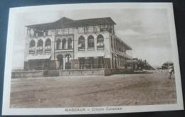 RARE POSTALCARD  OF THE HOUSE OF COLONIAL CIRCLE OF MASSAUA ./ CARTOLINA  CIRCOLO COLONIALE  MASSAUA - Erythrée