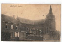 Lichtaart LICHTAERT  De Kerk 1923 - Kasterlee