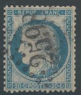 Lot N°46805  Variété/n°37, Oblit GC 2598 Nancy, Meurthe (52), Embriquements - 1870 Siege Of Paris