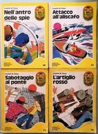 1972/1974 Franklin W. Dixon - 4 Libri - Mondadori   I^edizione - Livres, BD, Revues