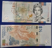 Bahamas - 1/2 Dollar 2019 UNC ( 50 Cents ) Lemberg-Zp - Bahamas
