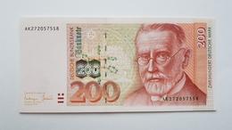 200 DM 1996 Ro 311a, Kassenfrisch,   UNC - [ 7] 1949-… : FRG - Fed. Rep. Of Germany