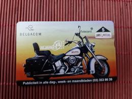 Harley Davidson Phonecard Belgium 512 L (Mint,Neuve)Only 1000 EX Made  Rare - Motorbikes