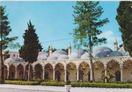 Syrie, Damas, Carte Postale Circulée. Timbres Jordanie. - Syrie