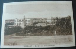 GARDENS OF THE POLICE - STATION OF MASSAUA ...//...GIARDINI DELLA STAZIONE DI POLIZIA DI MASSAUA - Erythrée