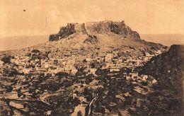 Greece Rodi Rodos Castello Del Cavalieri A Lindo Castle General View Postcard - Grèce