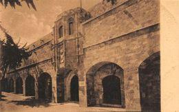 Greece Rodi Ospedale Dei Cavalieri E Museo Prospetto Principale Museum Postcard - Grèce