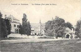 Souvenir De Beaumont NA11: Le Château. Vue Prise Du Parc 1914 - Beaumont