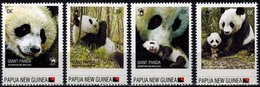 MDW-FDC-10 MDA MINT  ¤ PAPUA NEW GUINEA 2012 4w In Serie + 4x FDC ¤ ENDANGERED ANIMALS OF THE WORLD - Gibier