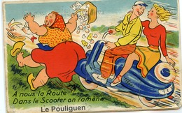 LE POULIGUEN CARTE A SYSTEME GABY - Le Pouliguen