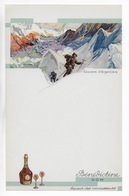 MENU * Chamonix*  GLACIERS D'ARGENTIERE  Haute Savoie BENEDICTINE FECAMP ** PEU COURANT ** - Menus