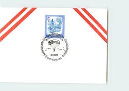 AUSTRIA -  9010 KLAGENFURT 1983 - MELSTORSCHAFT CHIRMZIEL SPRINGEN - PARA - PARACHUTE - PARACADUTE - Paracadutismo