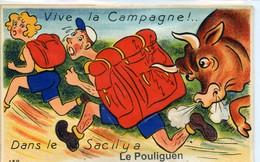 LE POULIGUEN CARTE A SYSTEME GABY N°132 - Le Pouliguen