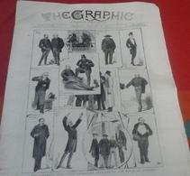 The Graphic N° 587 26 Février 1881 Rebellion Au Transvaal Guerre Des Boers, Irlande , Manitoba... - Revues & Journaux