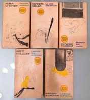 Biblioteca Del Giallo Mondadori - 5 Libri Usati - Livres, BD, Revues